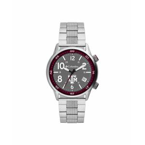 Columbia Men's Outbacker Texas A M Stainless Steel Bracelet Watch 45mm