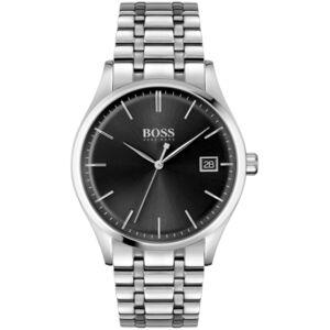 Men's Commissioner Stainless Steel Bracelet Watch 42mm - Men - Silver
