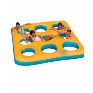 Swimline Labyrinth Island Inflatable Swimming Pool Toy - Yellow