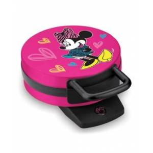 Disney Minnie Mouse Round Character Waffle Maker - Pink
