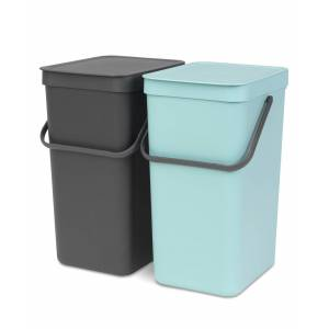 Brabantia Sort & Go' 4.2G Built-in Bin Trash Can