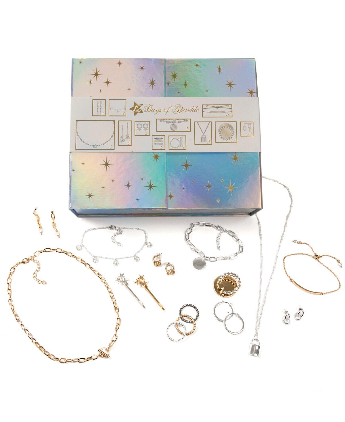 Jewelry Gift Set 12 Days of Sparkle Hologram Calendar
