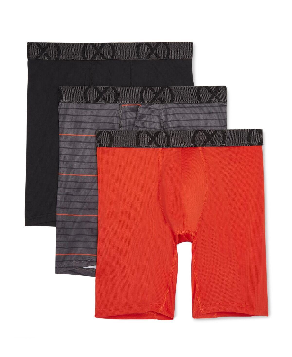 2xist Men's Sport Mesh Boxer Brief Set, Pack of 3
