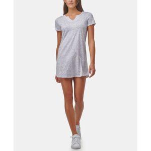 Marc New York Performance Women's Animal Print Short Sleeve T-shirt Dress