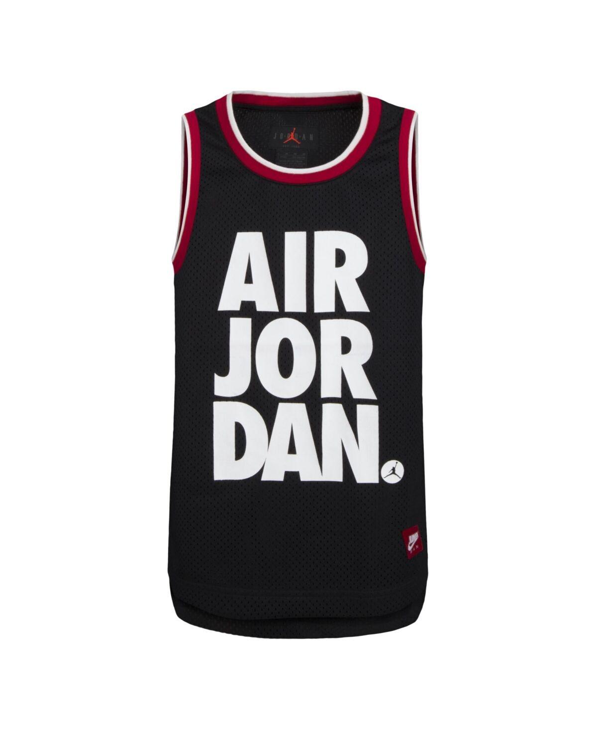 Jordan Big Boys Jordan Mesh Jersey Tank Top
