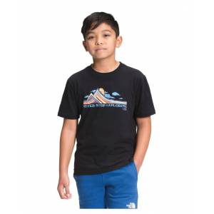 The North Face Big Boys Never Stop Exploring-Graphic T-Shirt