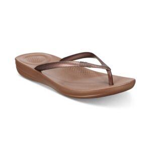 FitFlop Women's Iqushion Ergonomic Flip-Flops Sandal Women's Shoes - Women - Bronze - Size: 11M