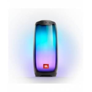 Pulse 4 - Waterproof portable Bluetooth speaker with 360° lightshow and sound - Black