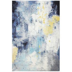 "Medley 5570A Ivory/Blue 5' x 7'6"" Area Rug - Ivory/Blue - Size: 5' x 7'6"""