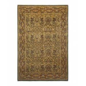 """Adorn Hand Woven Rugs Mogul M1404 6'1"""" x 9'1"""" Rectangle Area Rug - Gray - Size: 6' x 9'"""