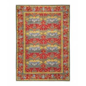 """Adorn Hand Woven Rugs Arts and Crafts M1647 6' x 8'8"""" Area Rug - Gray - Size: 6' x 9'"""