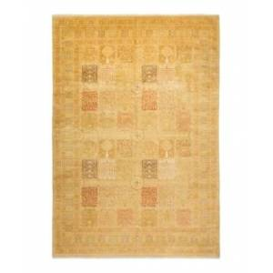 """Adorn Hand Woven Rugs Mogul M1442 9'2"""" x 13'5"""" Area Rug - Sand - Size: 9'2"""" x 13'"""