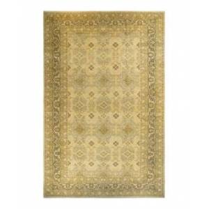 """Adorn Hand Woven Rugs Mogul M1366 12'3"""" x 20'5"""" Area Rug - Sand - Size: 12' x 18'"""