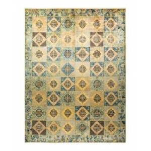 """Adorn Hand Woven Rugs Eclectic M1686 10'3"""" x 13'8"""" Area Rug - Multi - Size: 10' x 14'"""