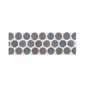 "Avanti Dotted Circles 24"" x 60"" Bath Rug Bedding"