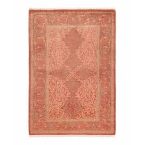 """Adorn Hand Woven Rugs Mogul M1749 2'8"""" x 3'10"""" Area Rug - Rust - Size: 2'7"""" x 4'"""