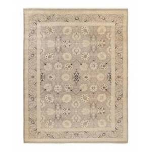 """Adorn Hand Woven Rugs Eclectic M1461 9'1"""" x 12'3"""" Area Rug - Gray - Size: 9' x 12'"""