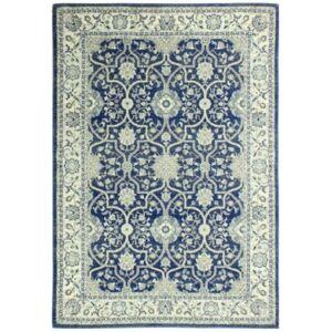 """Medley 5397A Dark Blue 7'6"""" x 9'6"""" Area Rug - Dark Blue - Size: 7'6"""" x 9'6"""""""