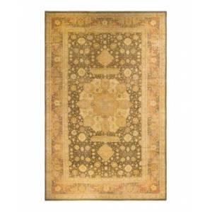 """Adorn Hand Woven Rugs Mogul M1417 12'6"""" x 20'1"""" Area Rug - Olive - Size: 12' x 18'"""