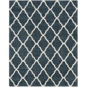 Safavieh Hudson Slate Blue and Ivory 8' x 10' Area Rug - Slate - Size: 8' x 10'