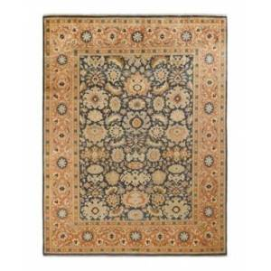 """Adorn Hand Woven Rugs Mogul M1149 9'3"""" x 12'2"""" Area Rug - Gray - Size: 9'3"""" x 12'6"""""""