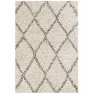 Safavieh Hudson Ivory and Gray 8' x 10' Area Rug - Ivory - Size: 8' x 10'