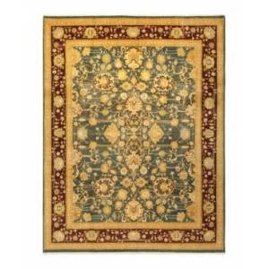 """Adorn Hand Woven Rugs Mogul M1404 9'1"""" x 11'9"""" Rectangle Area Rug - Gray - Size: 9' x 12'"""