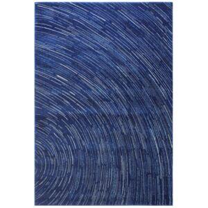 "Medley 5468 Dark Blue 5' x 7'6"" Area Rug - Dark Blue - Size: 5' x 7'6"""