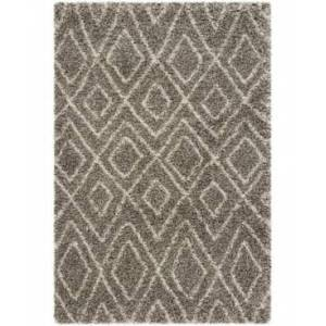 Safavieh Hudson Gray and Ivory 6' x 9' Area Rug - Gray - Size: 6' x 9'