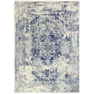 "Medley 5437A 5' x 7'6"" Area Rug - Ivory/Blue - Size: 5' x 7'6"""