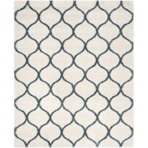 Safavieh Hudson Ivory and Slate Blue 8' x 10' Area Rug - Ivory 2 - Size: 8' x 10'