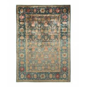 """Adorn Hand Woven Rugs Eclectic M1683 6'2"""" x 8'10"""" Area Rug - Gray - Size: 6' x 9'"""