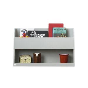 Tidy Books The Tidy Books Bunk Bed Buddy Shelf - Gray