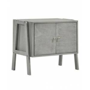 Picket House Furnishings Granville 2-Doors Stacking Cabinets - Gray