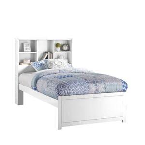 Hillsdale Caspian Twin Bookcase Bed - White - Size: Twin