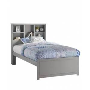 Hillsdale Caspian Twin Bookcase Bed - Charcoal - Size: Twin