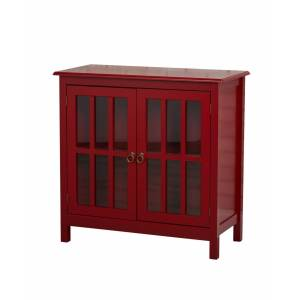 Buylateral Portland Glass Door Cabinet