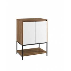 """Walker Edison 24"""" 2 Door Accent Cabinet with Lower Shelf - Off White - Size: No Size"""