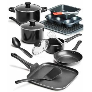 Tools of the Trade 16-Pc. Cookware & Bakeware Set, Created for Macy's