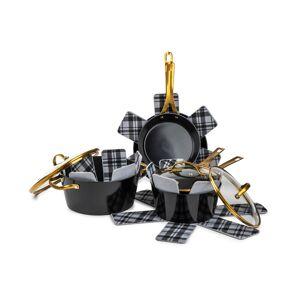 Brooklyn Steel Co. Orbit 12-Pc. Ceramic Cookware Set