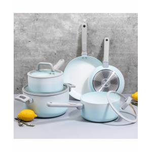 Brooklyn Steel Co. Lunar Eclipse Nonstick Aluminum 12-Pc. Cookware Set