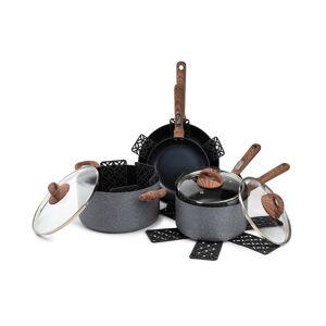 Brooklyn Steel Co. Solstice 12-Pc. Nonstick Cookware Set