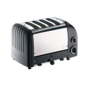 Dualit 4 Slice NewGen Toaster - Matt Black