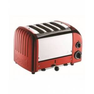 Dualit 4 Slice NewGen Toaster - Apple Candy Red