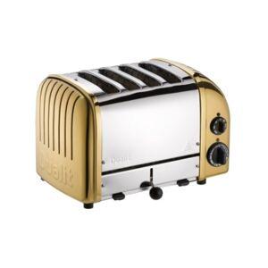 Dualit 4 Slice NewGen Toaster - Brass
