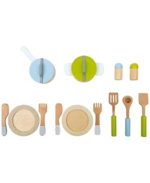 Legler Usa Small Foot Wooden Toys 15 Piece Dining and Cutlery Playset - Size: No Size