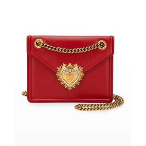 Dolce & Gabbana Devotion Small Crossbody Bag - RED