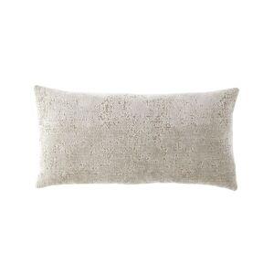 Fino Lino Linen & Lace Velluto Oblong Pillow - Size: unisex