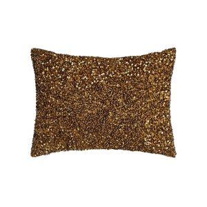 "Lili Alessandra Beaded Pillow, 12"" x 16"" - Size: 12X16 - COPPER"