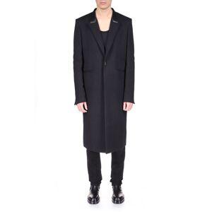 Givenchy Men's 4G Jacquard Long Coat - Size: 50 EU (34R US) - BLACK